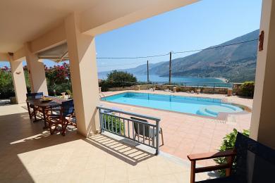 Atmospheric 3-bedroom villa with breathtaking sea views in Zola