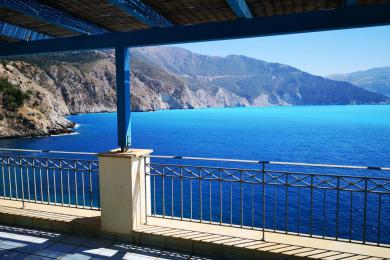 Seaside villa in the center of Assos